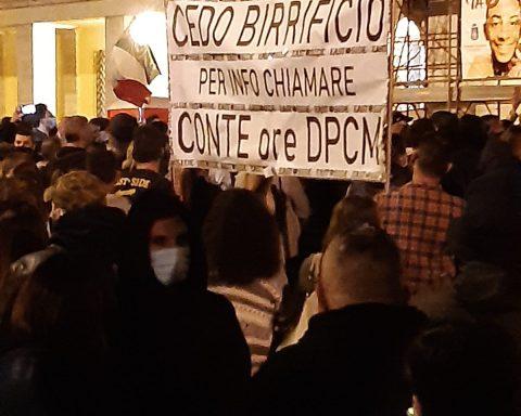 La protesta di Piazza del Popolo - 26 ottobre 2020
