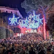Luminarie a Gaeta (foto d'archivio)