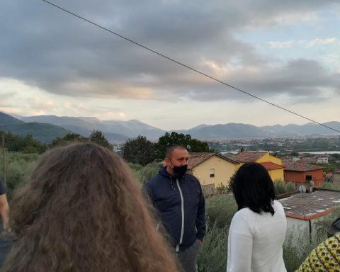 Ciccone incontra i residenti di Via Torricella
