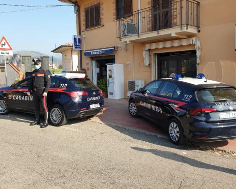 Due pattuglie dei Carabinieri nella zona ove si è verificata l'aggressione.