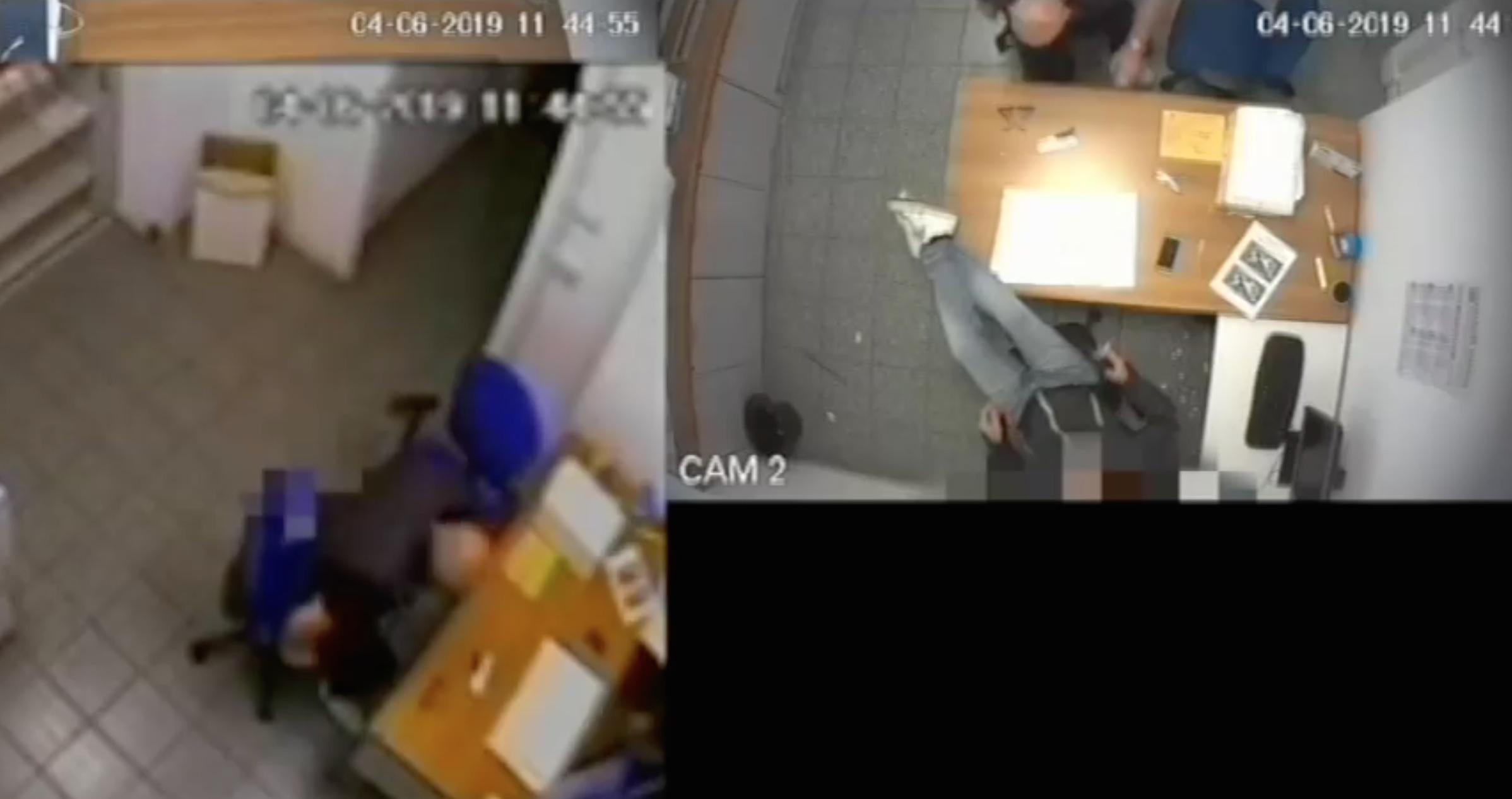 Le immagini registrate dagli investigatori nell'operazione Scarabeo