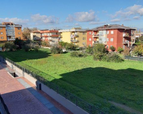 L'area dove sorgerà il Parco Pergolesi