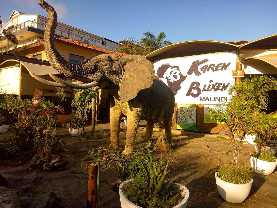 Ristorante Karen Blixen a Malindi, Kenya