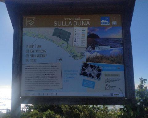 Segnaletica Parco Circeo2