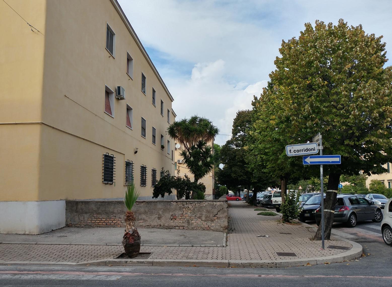 Via Corridoni, quartiere Nicolosi