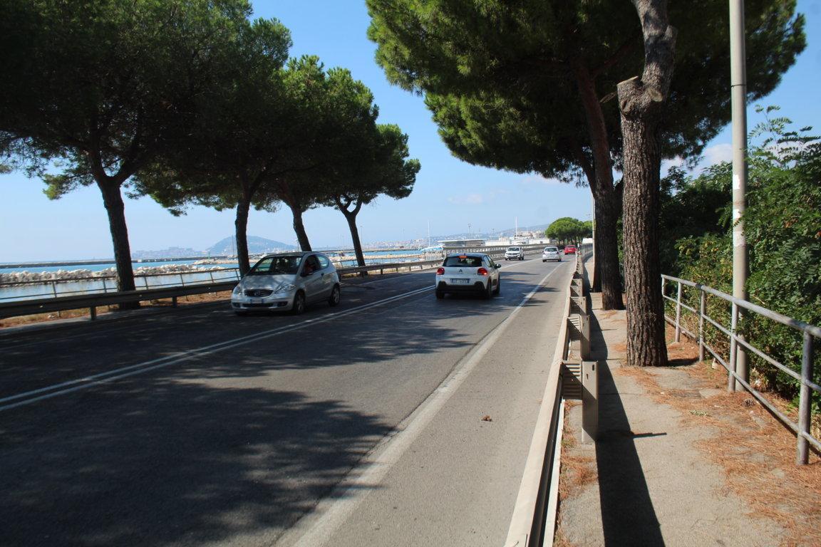 Viadotto del Lungomare della Repubblica, Formia