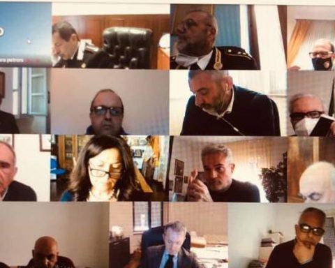 Video-conferenza dei Sindaci della provincia di Latina convocata dal Prefetto