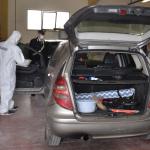 L'auto del 30enne di Roccagorga raggiunta dagli spari dei 3 arrestati di Priverno