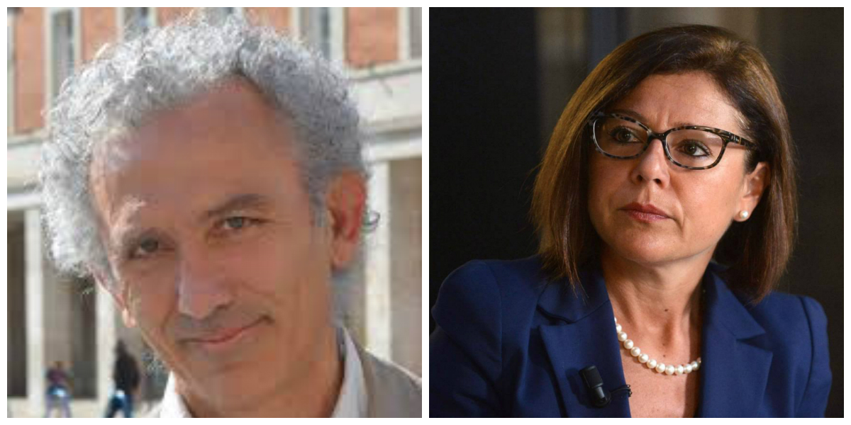 Damiano Coletta e Paola De Micheli