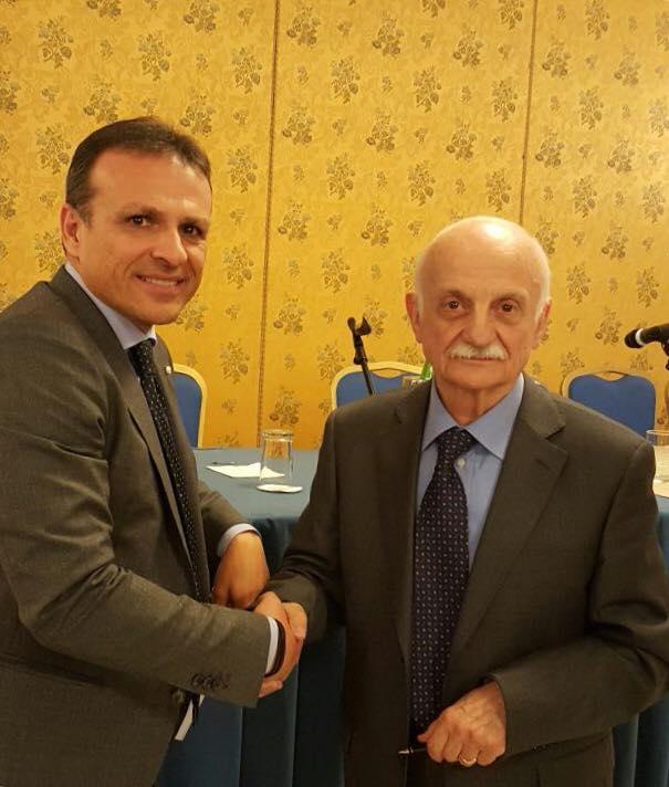 Davide Lemma insieme al Genarel dei CarabinieriDavide Lemma insieme al Genarel dei Carabinieri