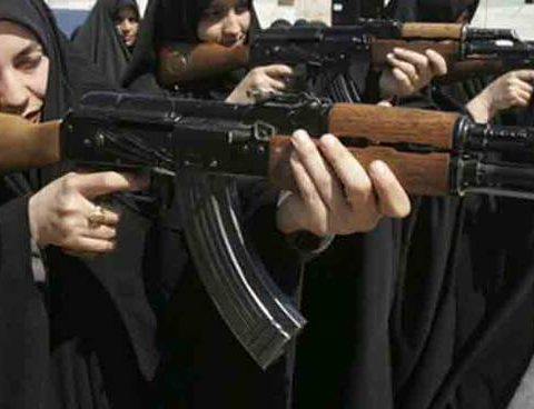 Donne appartnenenti all'Isis