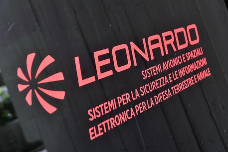 Il logo di Leonardo (ANSA/LUCA ZENNARO)
