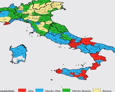 La mappatura dell'Eurispes
