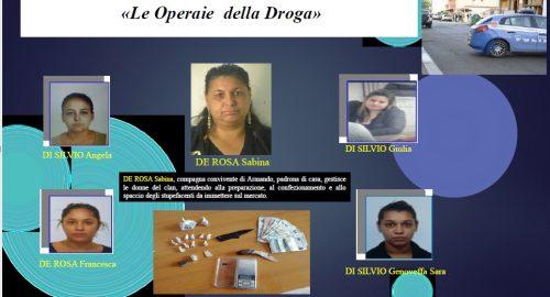Le donne del Clan Di Silvio arrestate nell'operazione Alba Pontina