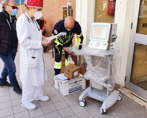 donazione ventilatore pediatrico