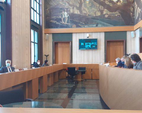 Consiglio provinciale a Latina