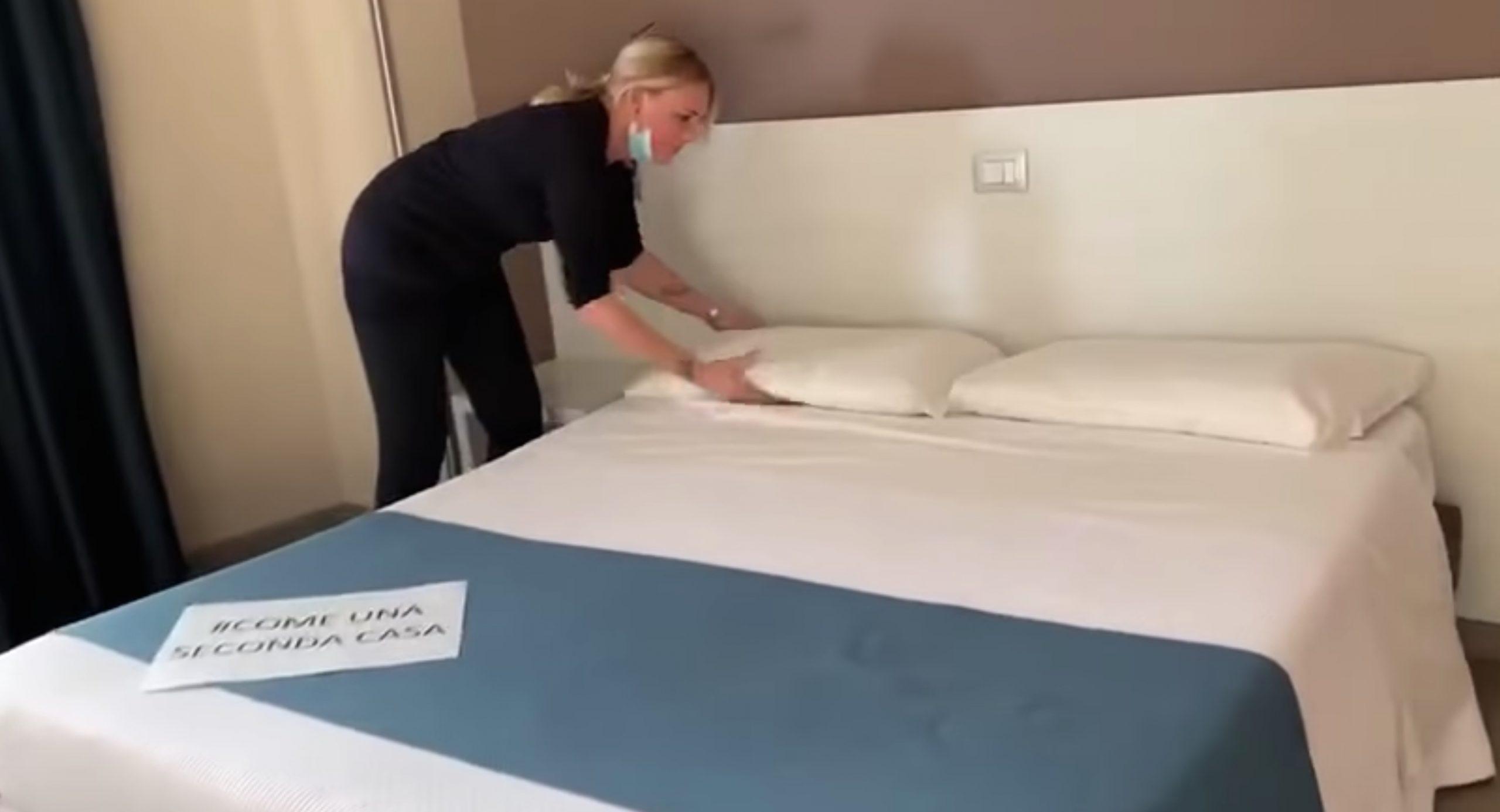 Park Hotel, estratto del video sulla struttura alberghiera pubblicato dopo il caso delle cameriere a busta paga zero