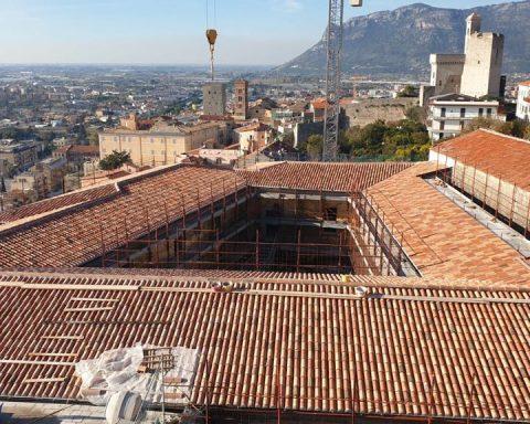 San Francesco: conclusione lavori tetto