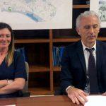 Simona Lepori e Damiano Coletta