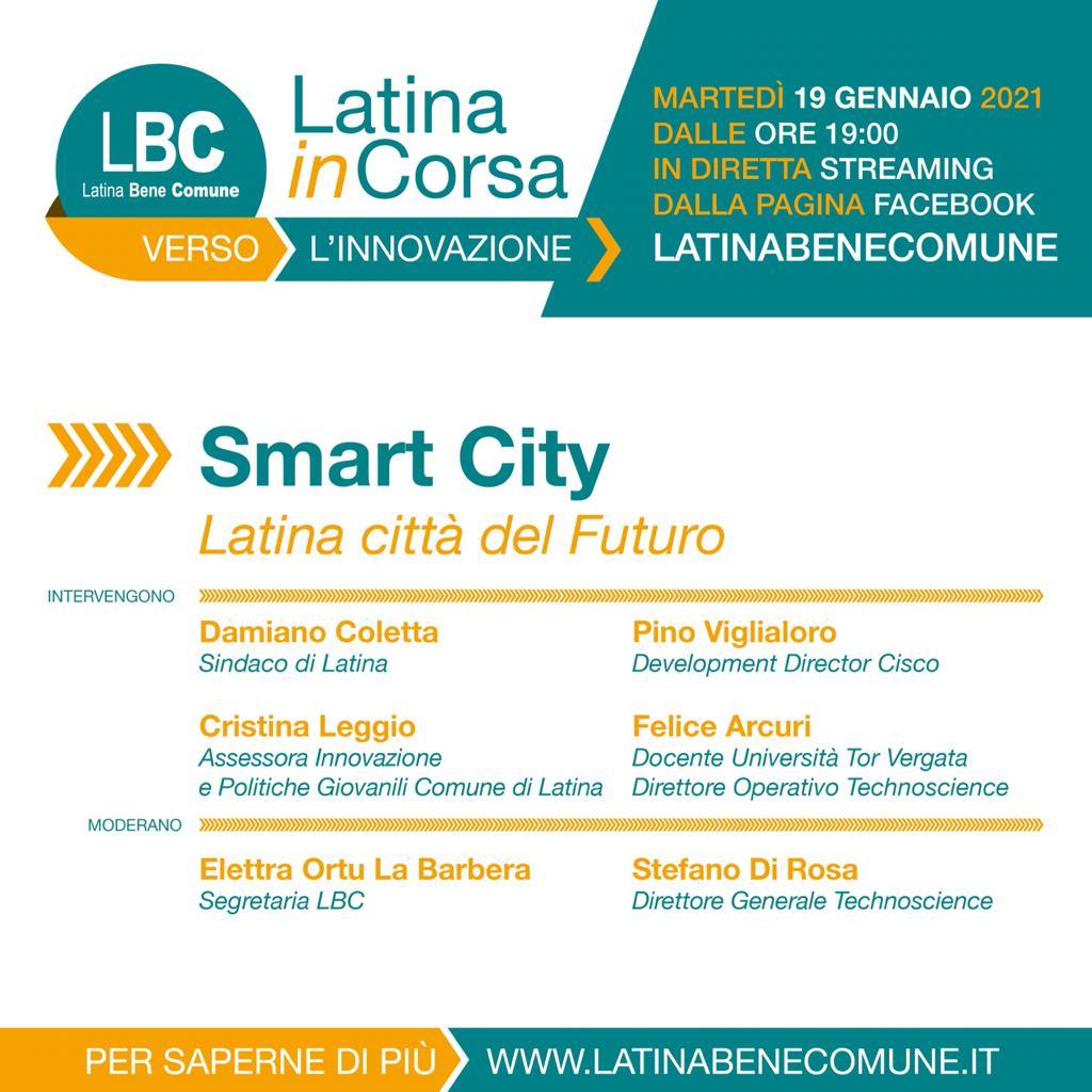 città smart latina del futuro
