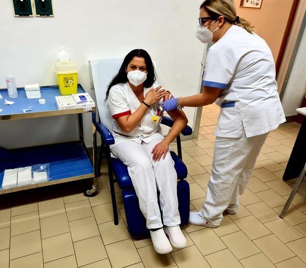 Sono iniziati nella giornata odierna, 5 gennaio, i vaccini presso l'Ospedale Fiorini di Terracina