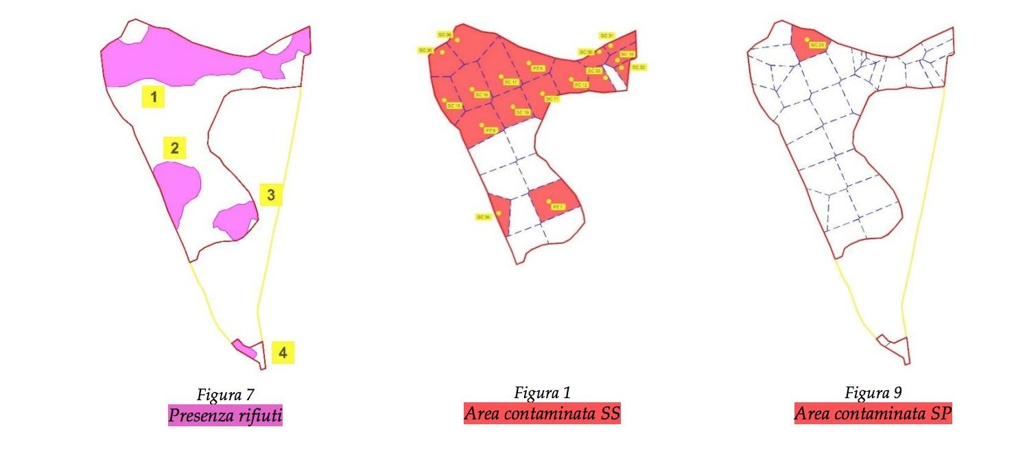 Grafico contenuto nelle osservazioni del Settore Ambiente del Comune di Aprilia