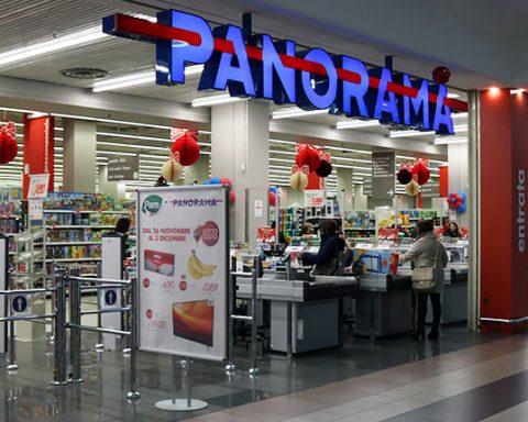 Il punto Panorama presso il Centro commerciale Itaca di Formia