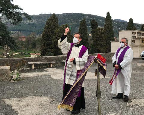 Benedizione cimitero Sezze