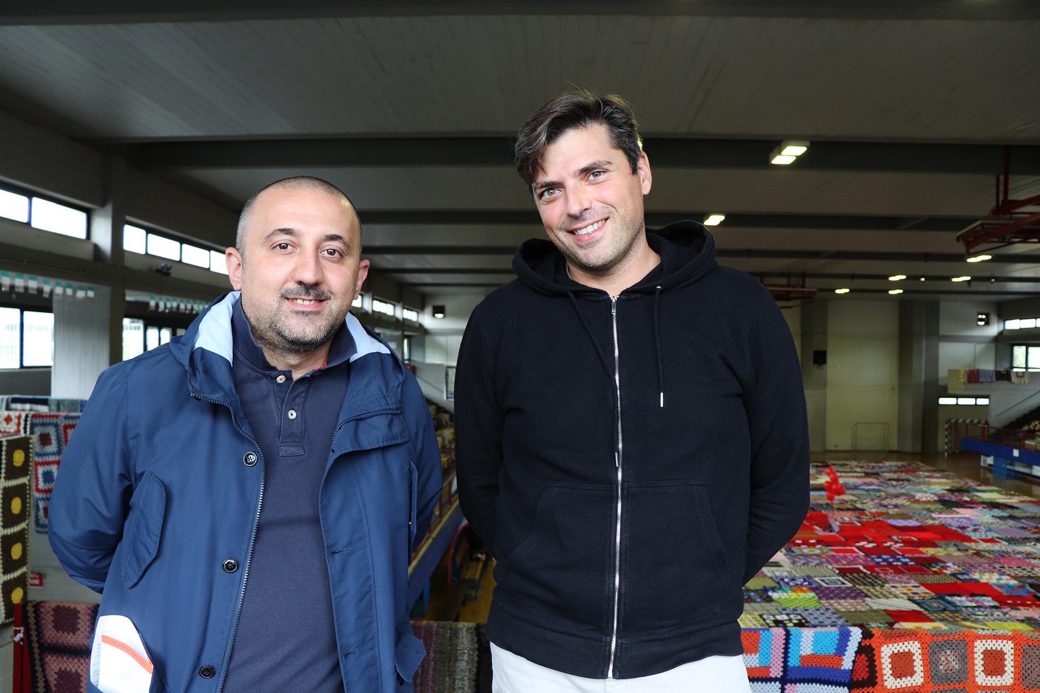 Francesco Ciccone e Alessio Saccoccio