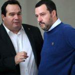 Claudio Durigon e Matteo Salvini