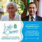 Damiano Coletta e Giuseppe Sala