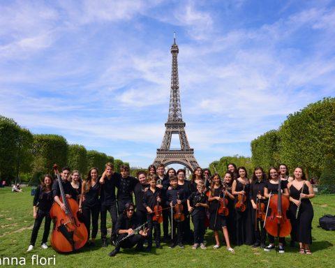 I Giovani Filarmonici Pontini a Parigi