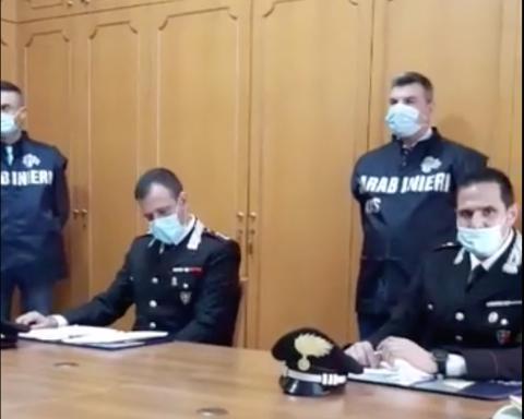 La conferenza stampa dei Nas presso il Comando provinciale dei Carabinieri di Latina