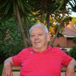 Nando Romiti seduto sulla panchina del Tennis Club Latina