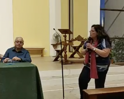 16 giugno 2019, Paola Villa interviene al convegno organizzato da Libera e parla anche degli Ascione