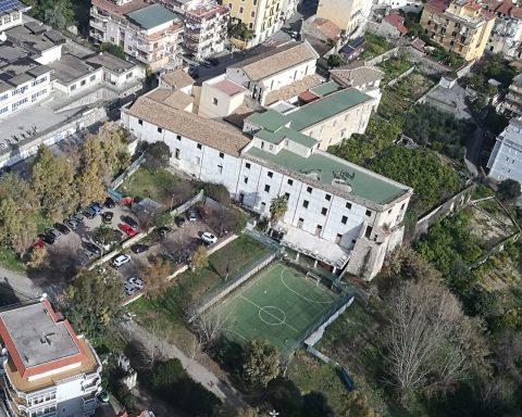 complesso monumentale di Sant'Erasmo ubicato a Castellone (Formia)
