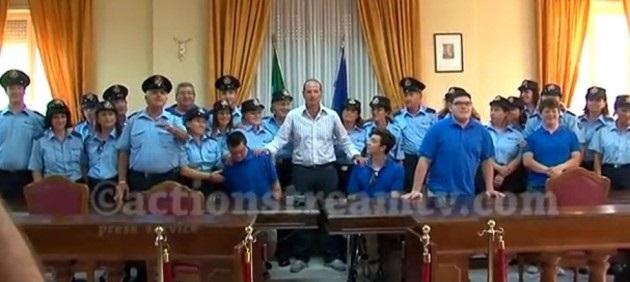 Mitrano e i lavoratori della Blu Gaeta