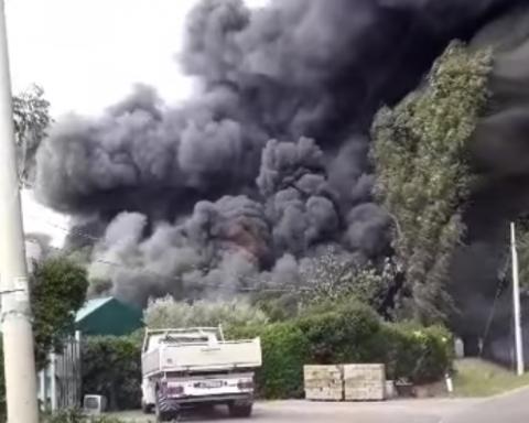 incendio azienda Sabaudia
