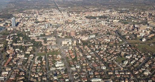urban center