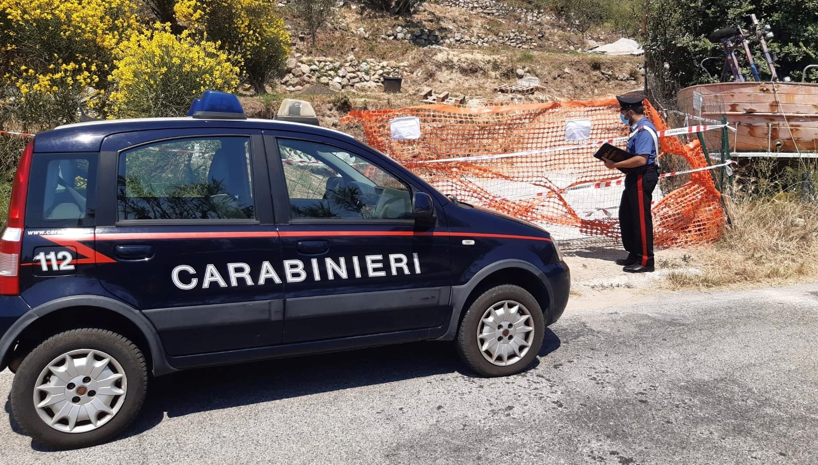 I carabinieri del locale Comando di Ponza