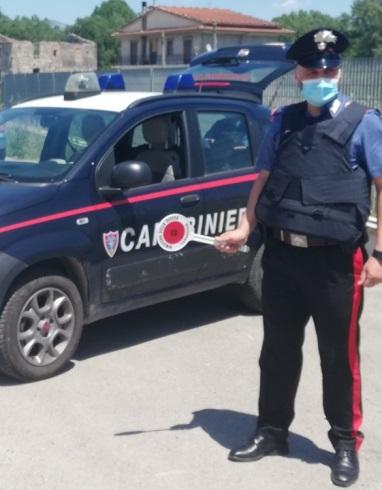 Carabinieri del Comando Compagnia di Formia e della Stazione CC Forestali di Spigno Saturnia