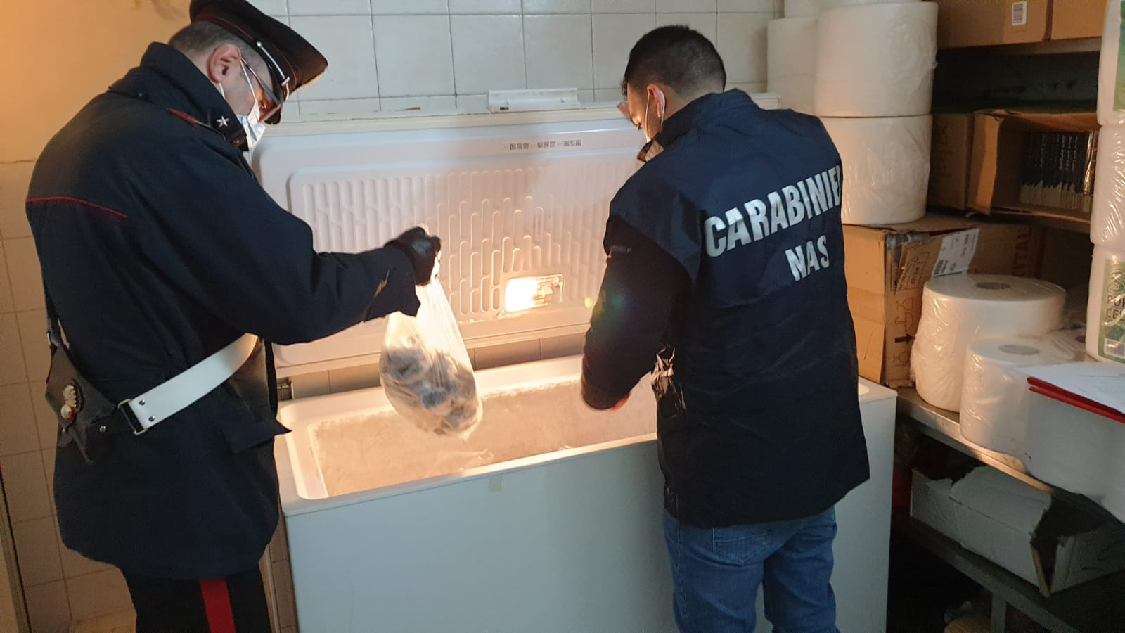 Carabinieri del NAS di Latina e della Stazione di Latina Scalo