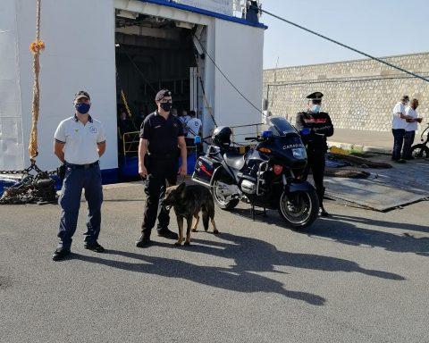 Controlli presso il porto di Terracina