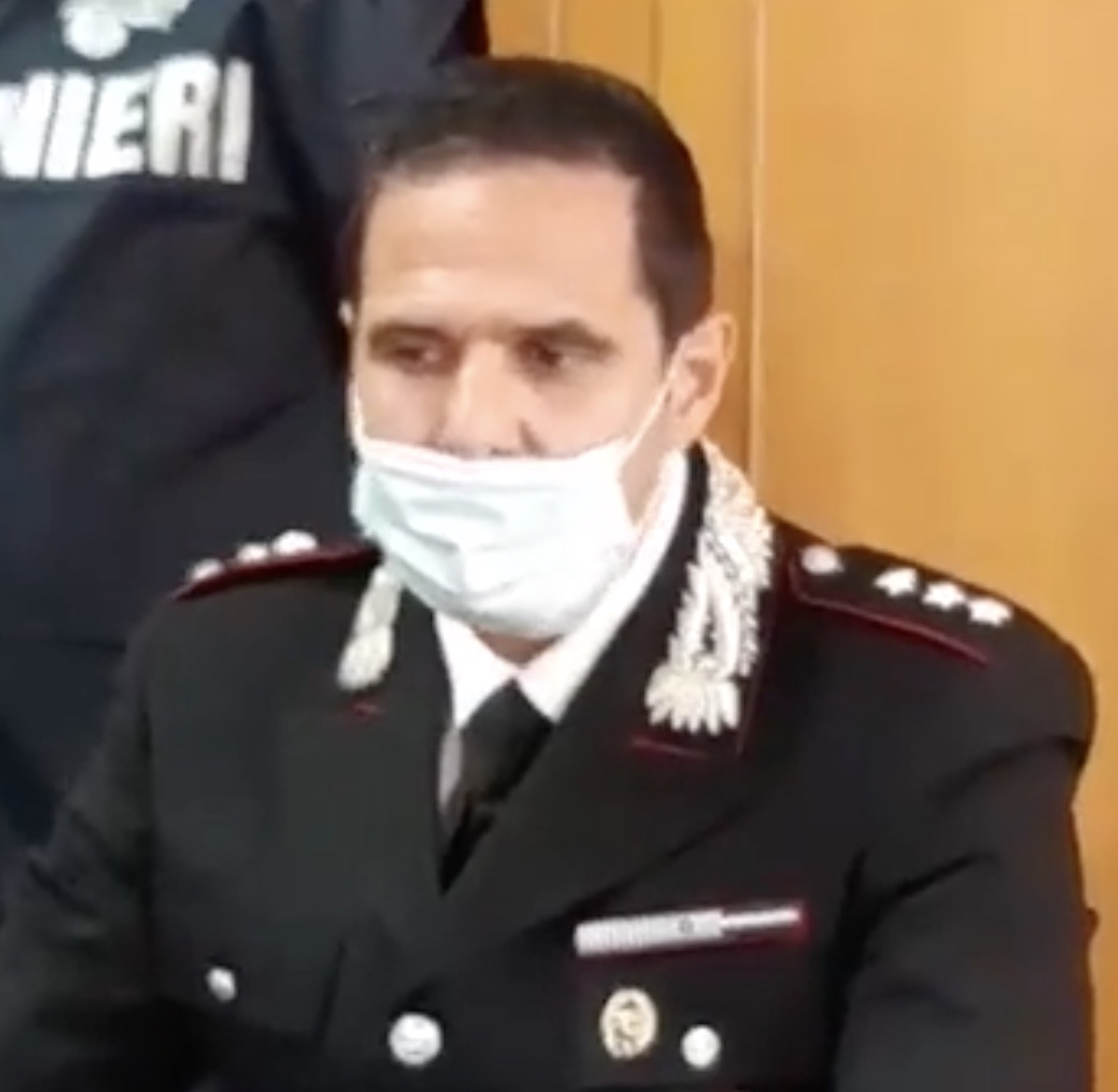 Il Capitano dei Carabinieri Nas di Latina Felice Egidio
