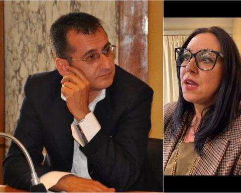 Cesare Bruni e Giovanna Miele
