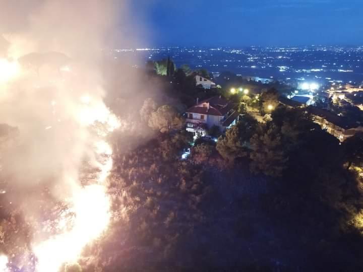 incendio Monti Lepini