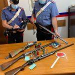 Armi e munizioni sottoposte a sequestro
