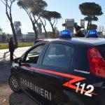 Carabinieri di latina durante un posto di controllo