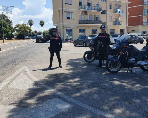 i Carabinieri del norm di Terracina