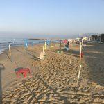 La spiaggia liberata a Sperlonga